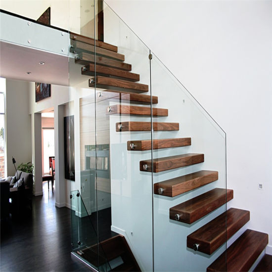 DIY-Prefabricated-Floating-Staircase-with-Safety-Glass-Railings